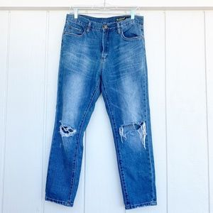 🚘MOVING🚘 BLANK NYC Hi Rise Tapered Leg Jeans 28